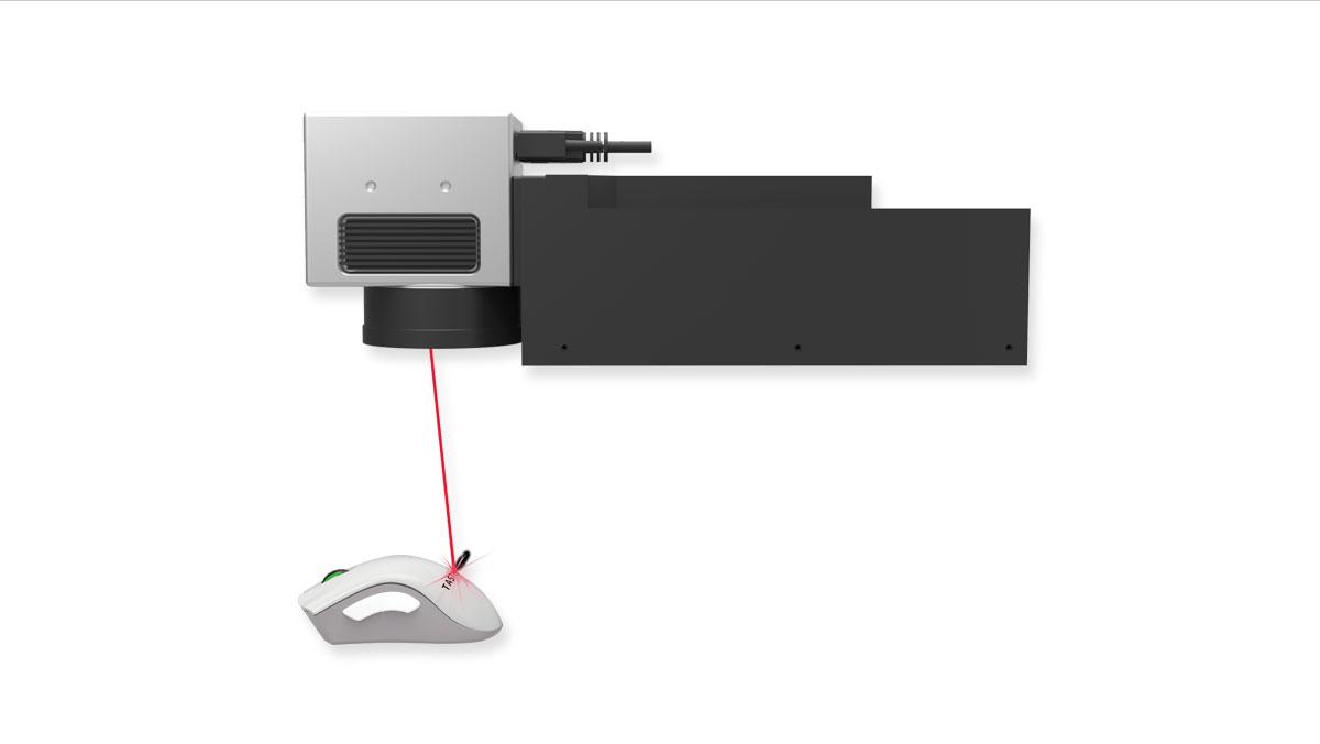 Taste Laser innovative uv laser engraver