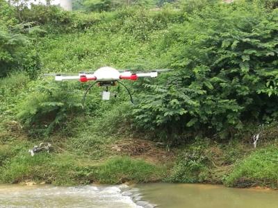 无人机流量自动测量系统