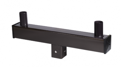 Square Mounts Bullhorn Brackets for 4 inch Square Poles
