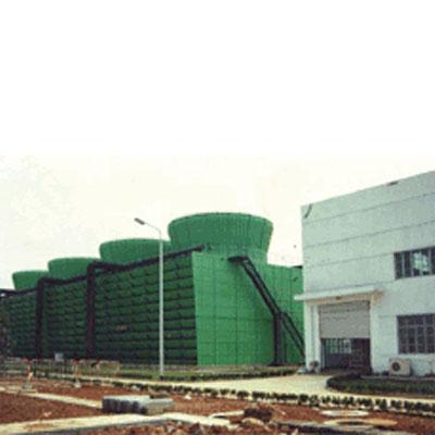 工業型組合鋼結構橫流方塔