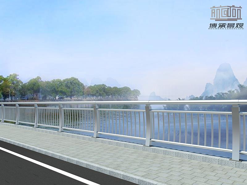 江西赣西大桥--钢结构人行护栏