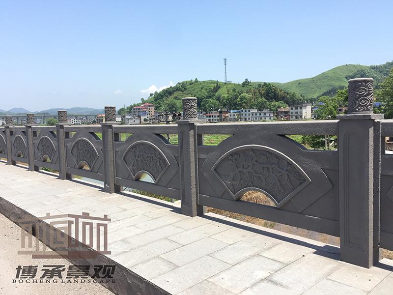 江西萍乡萍洲大桥--铸造石护栏