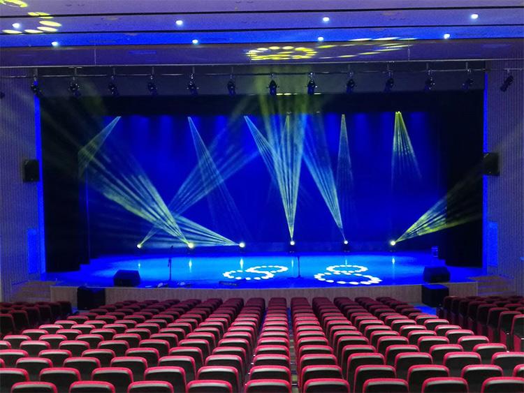 多功能厅舞台灯光系统综合解决方案