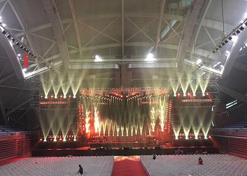 体育馆舞台灯光系统综合解决方案