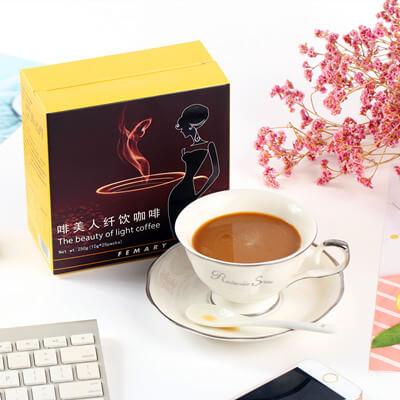 啡美人纖飲咖啡