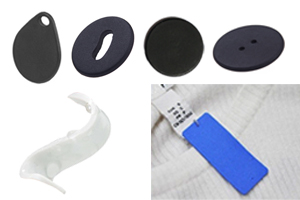 PPS/Silicone RFID Laundry Tags