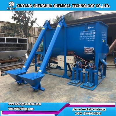 dry mortar mixing putty powder mixer machine