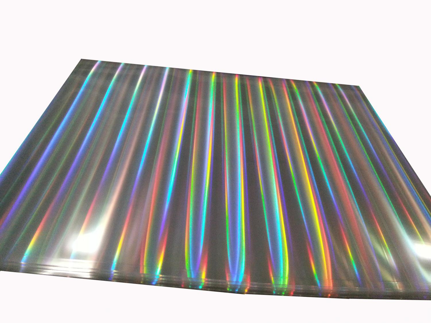 Holographic Film for Anti-Fake Packaging
