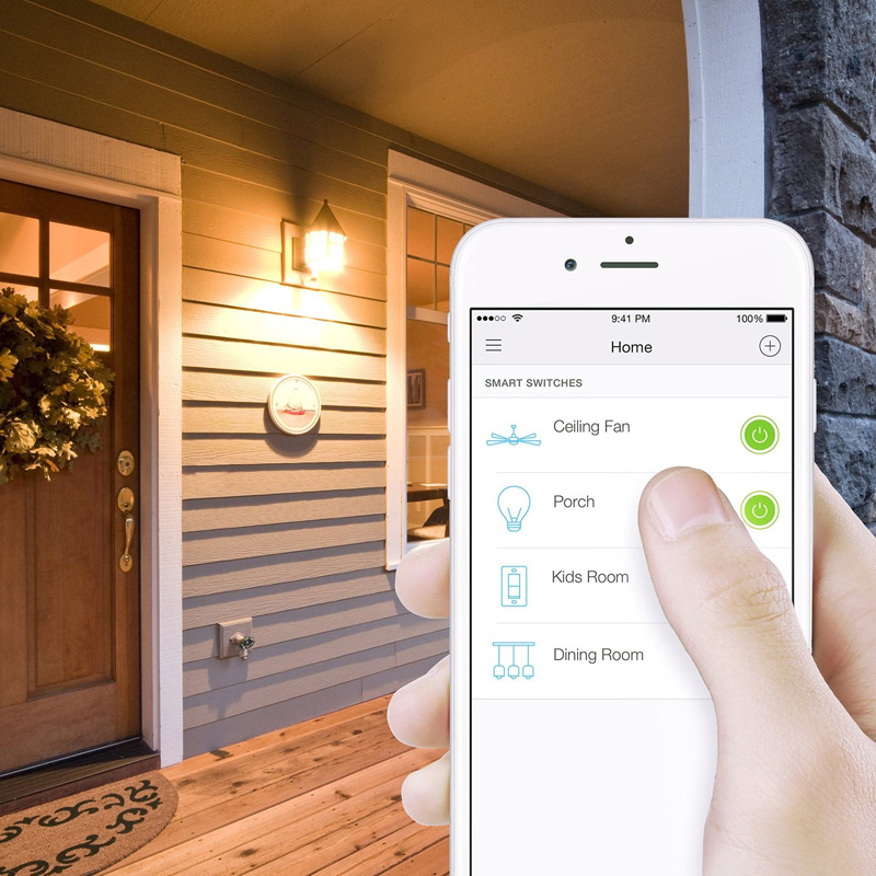 Remote control your home by mobile APP