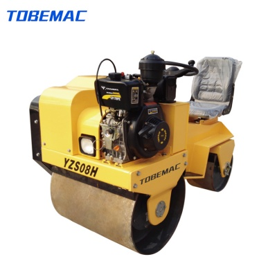 YZS08H Ride-on Double Drum Vibratory Roller