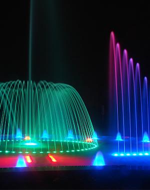 宝鸡扶风百合广场喷泉项目