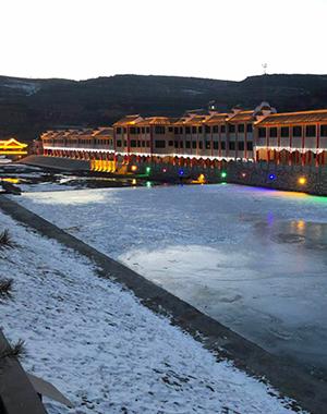 延安市黄龙县亮化工程