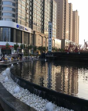 庆阳东方丽景商城水景项目