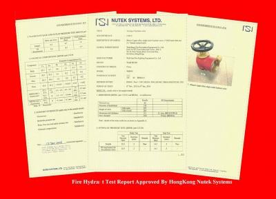 香港Nutek System測試合格證書