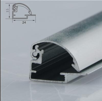 21mm arc shaped light box profile