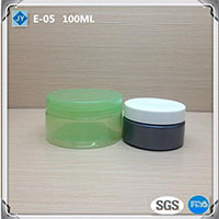 100ml 3oz mini pet Plastic Jar