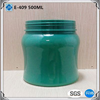 500ML16oz plastic jar