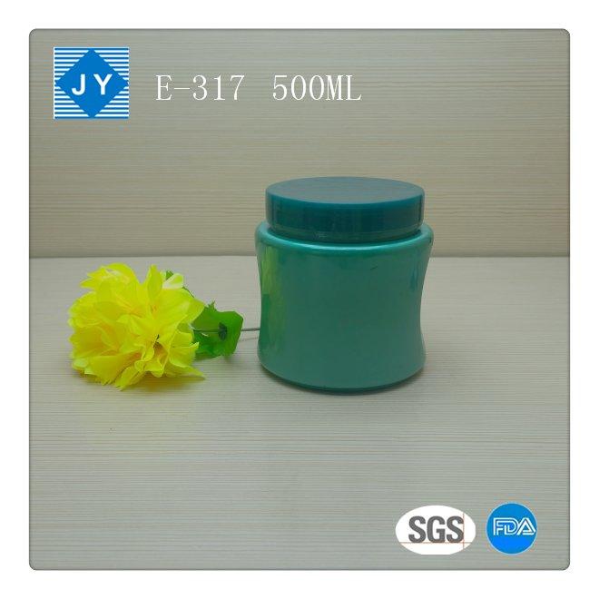 500ml 16oz pet plastic jars