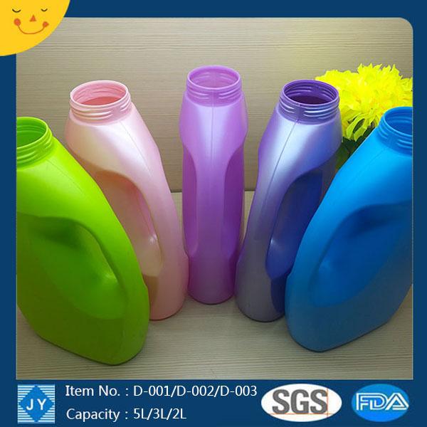 5L/3L/2L liquid detergent, laundry detergent plastic bottle