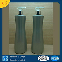 500ml 16oz Screen Printing Surface Handling and Cosmetics Usage plastic bottle