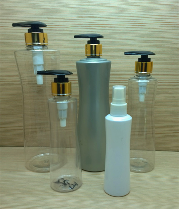 300ml 10oz pet custom color cylinder plastic bottles