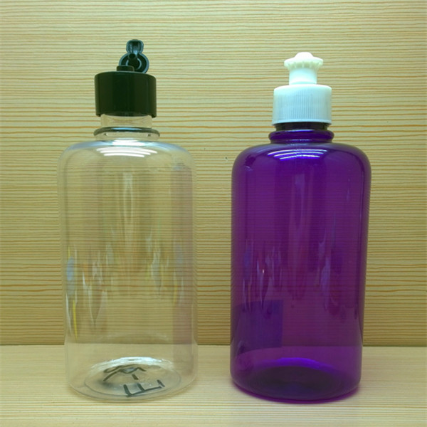 480ml 16oz round plastic bottle