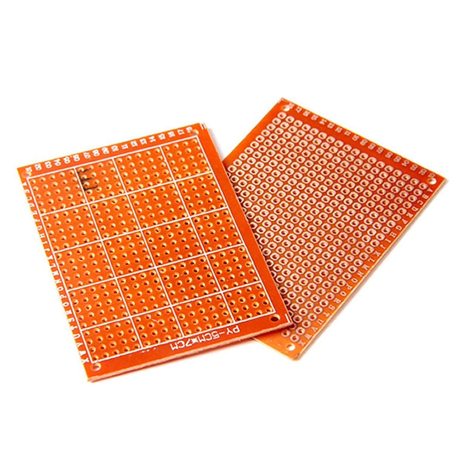 Solder Finished Prototype PCB for DIY 5x7cm Circuit Board Breadboard
