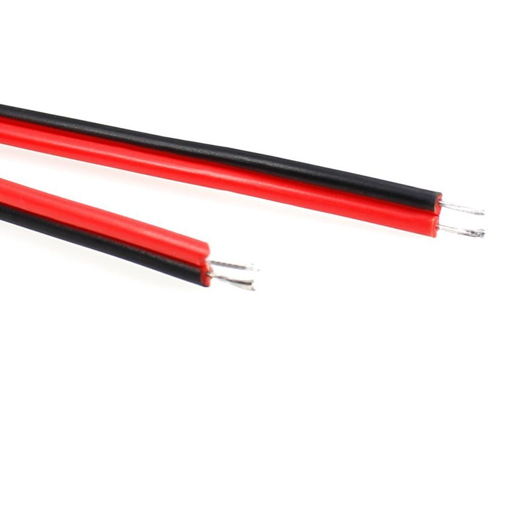 20pcs DC Pigtail Adapter Power Connectors Cables Male & Female 2.1mm x 5.5mm DC Barrel Jack Wire