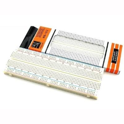 MB-102 MB102 Solderless Breadboard 830 Points PCB BreadBoard