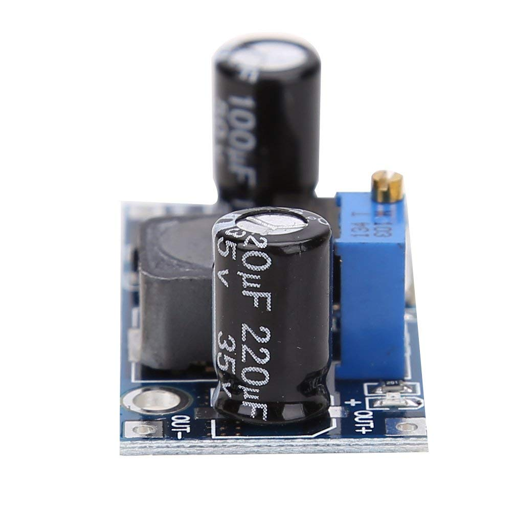 LM2596S-ADJ DC-DC Step Down Voltage Regulator Module 3A Adjustable 5V/12V/24V