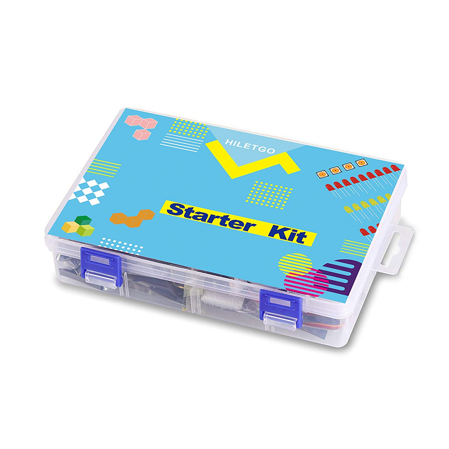 UNO Project Super Starter Kit with Tutorial Book From Knowing to Utilizing for Arduino
