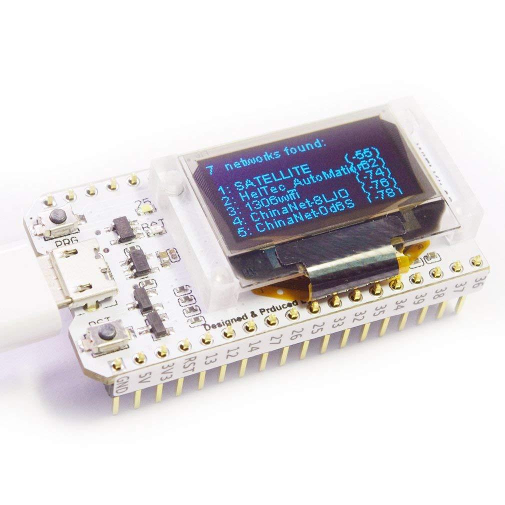 ESP32 OLED WiFi Kit ESP-32 0.96 Inch Blue OLED Display WIFI Bluetooth CP2012 Internet Dev Board