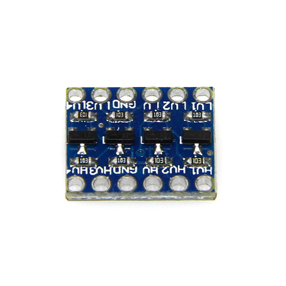 4 Channels IIC I2C Logic Level Converter Bi-Directional 3.3V-5V Shifter Module for Arduino