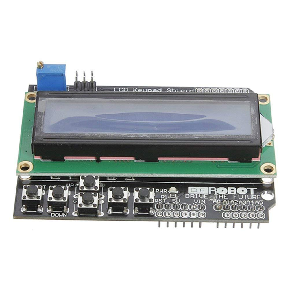 LCD1602 Input/Output expansion board LCD Keypad Shield for Arduino