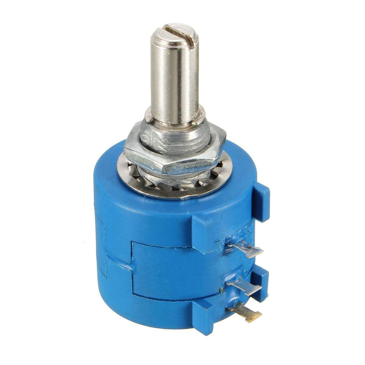 3590S-2-103L 10K Ohm 10-Turn Rotary Wire Wound Precision Potentiometer Pot