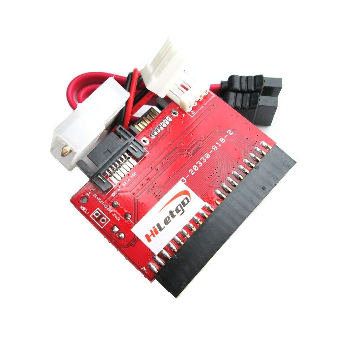IDE to SATA SATA to IDE ATA ATAPI Serial HDD Mutual Converter Adapter with Cable