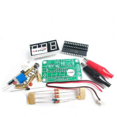 VOT-8 Voltmeter Kit Voltage Meter Electronic Production Suite DIY Kit