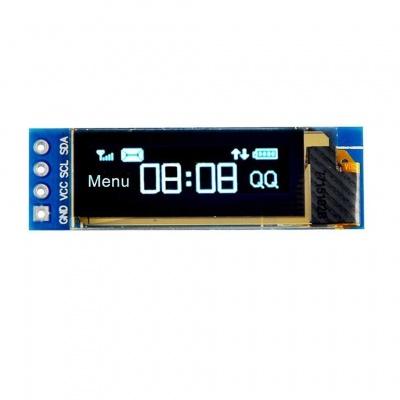 "0.91"" IIC I2C Serial OLED LCD Display SSD1306 128x32 3.3V/5V AVR PIC STM32 Arduino"