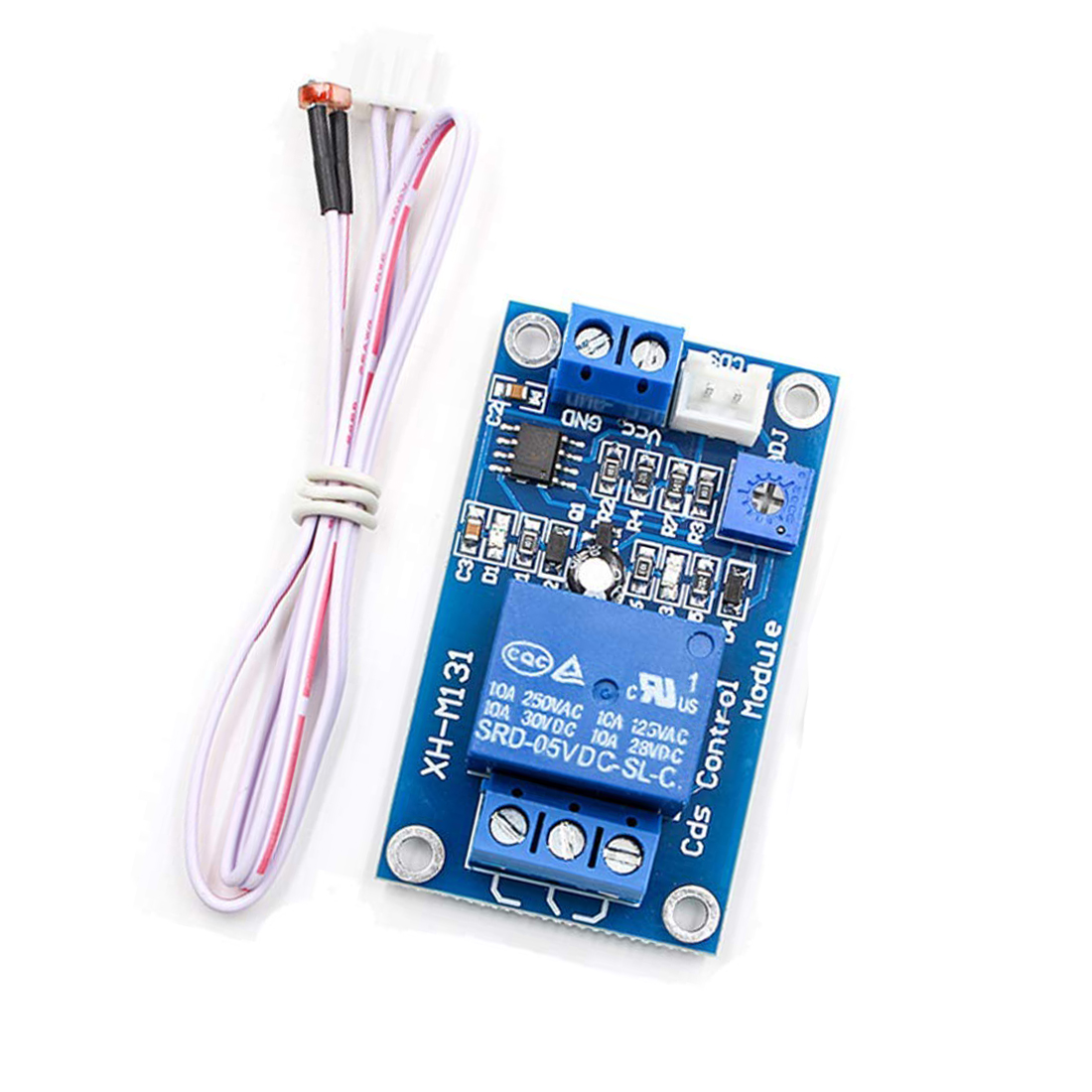 12V Photoresistor Sensor Relay Module Car Light Automatic Control Switch with Cable