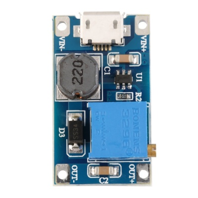 2A DC-DC Boost Step up Conversion Module MicroUSB 2V-24V to 5V-28V 9V 12V 24V