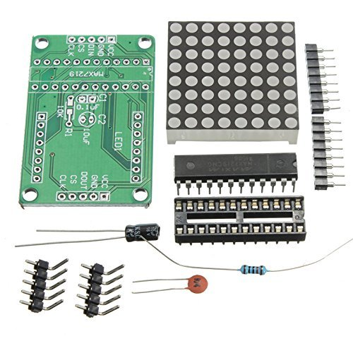 MAX7219 Dot matrix module DIY kit MCU control Display module for Arduino
