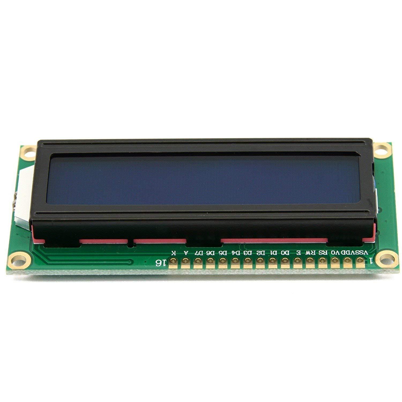 DC 3.3V HD44780 1602 LCD Display Module 16x2 Character LCM Blue Blacklight