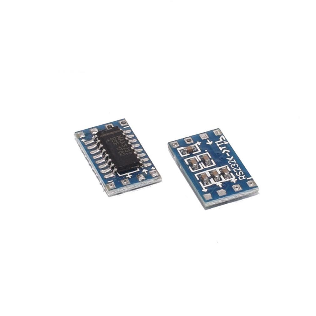 HiLetgo 10pcs Mini RS232 to TTL MAX3232 to TTL Level Converter Board