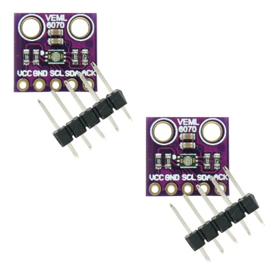 HiLetgo 2pcs GY-VEML6070 VEML6070 UV Sensitivity Detection Solar Light Sensor Module
