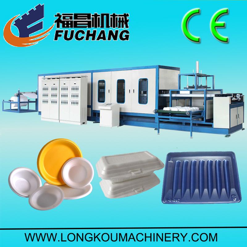 PS foam vacuum forming machine