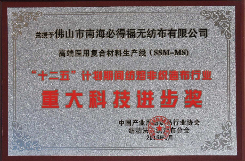 重大科技进步奖(SSM-MS)