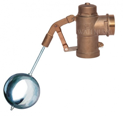 WH024 Float Operated Gunmetal Valve With Stainless Steel Float