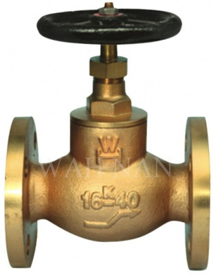 WH057 Marine Bronze Screw Down Globe & Angle Valves