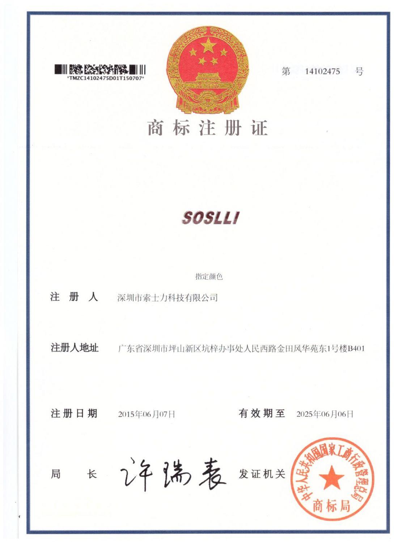 SOSLLI-商标