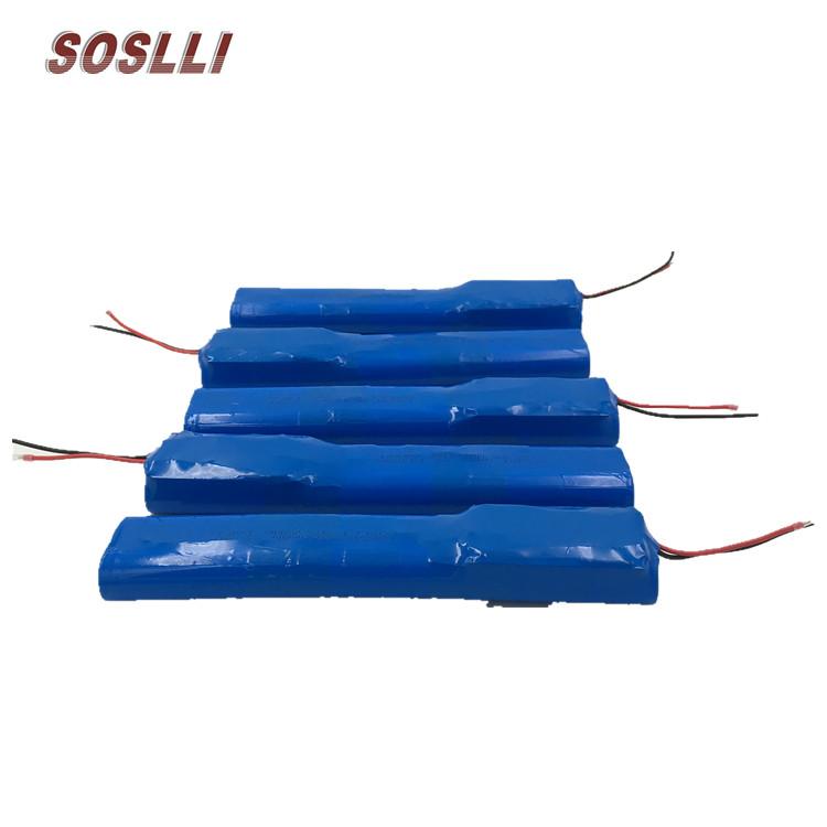 SSL-ICR6S1P 22.2V/24V 2600mAh锂电池组